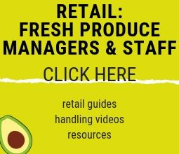 Information and resources for retail staff dealing with Australian avocados