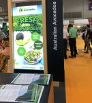 Avocados Australia stand at Asia Fruit Logistica, in the Hort Innovation Taste Australia pavilion