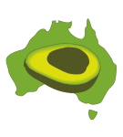 Avocados Australia logo (map)