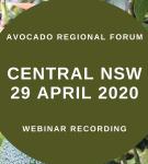 Webinar link: Central NSW Regional Forum