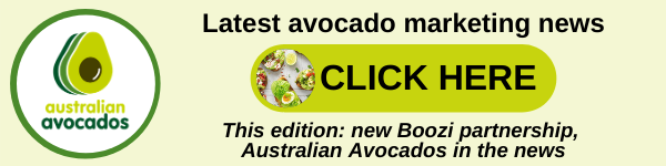 Click here to read all the latest Australian Avocados marketing news