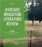 Cover of irrigation literature review report