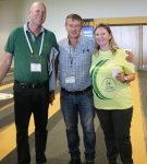 Robert Gray, Daryl Boardman and Adele Nowakowska at Avo Connections